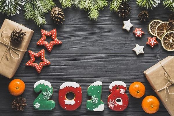 """Bộ ảnh đẹp """"Chúc mừng năm mới 2018"""" trên mạng xã hội - 15"""