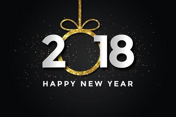 """Bộ ảnh đẹp """"Chúc mừng năm mới 2018"""" trên mạng xã hội - 16"""