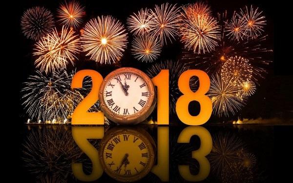 """Bộ ảnh đẹp """"Chúc mừng năm mới 2018"""" trên mạng xã hội - 18"""