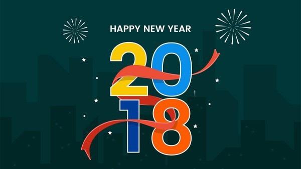 """Bộ ảnh đẹp """"Chúc mừng năm mới 2018"""" trên mạng xã hội - 20"""