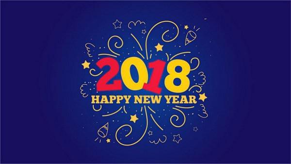 """Bộ ảnh đẹp """"Chúc mừng năm mới 2018"""" trên mạng xã hội - 21"""