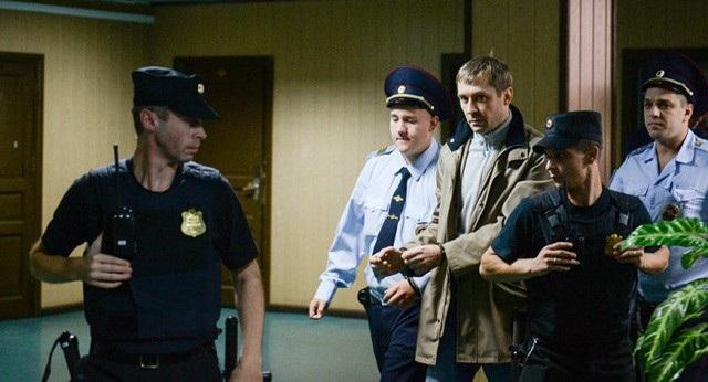 Quyền Cục trưởng Cục chống tham nhũng của Bộ Nội vụ Nga Dmitry Zakharchenko khi bị bắt vì cáo buộc tham nhũng (Ảnh: Sputnik)