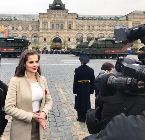 Markovskaya là cựu phóng viên và phát thanh viên thời sự của các kênh truyền hình quốc gia tại Nga. (Ảnh: Rossiyana Markovskaya/Instagram)