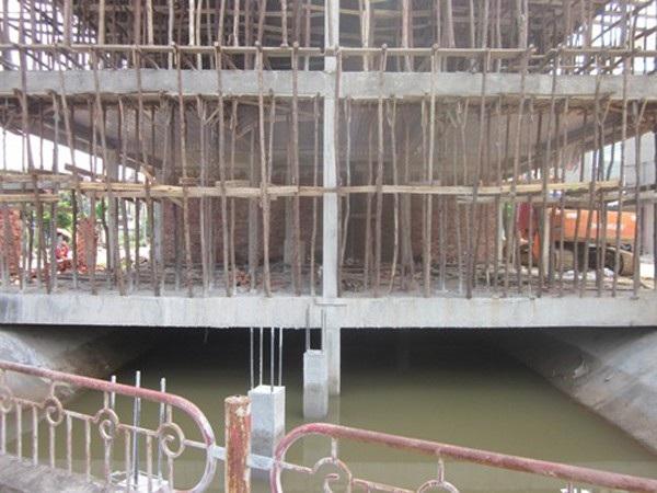 Dự án ngầm hoá kênh Cống Thôn (Ảnh: Thanh Tra)