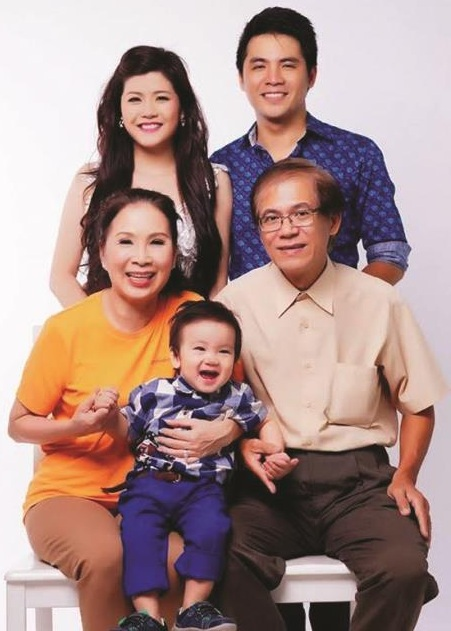 NSƯT Kim Xuân và cuộc sống viên mãn, hạnh phúc bên chồng và các con
