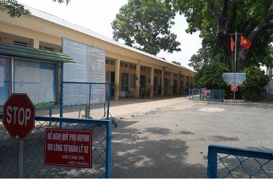 Trường tiểu học Lương Thế Vinh, Q. Thủ Đức, TPHCM nơi phụ huynh tố cáo con con bị xâm hại trong lớp