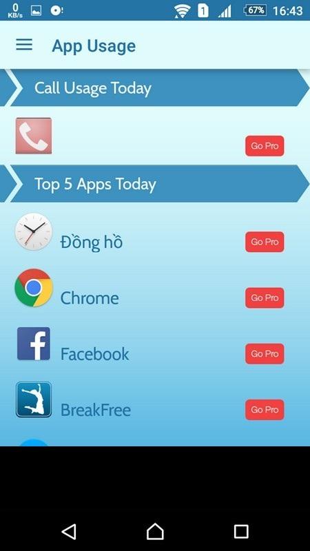 """Cai nghiện"" smartphone với BreakFree - 5"