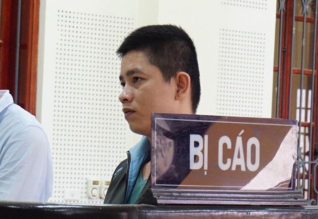 Bị cáo Ngô Văn Cường tại phiên tòa