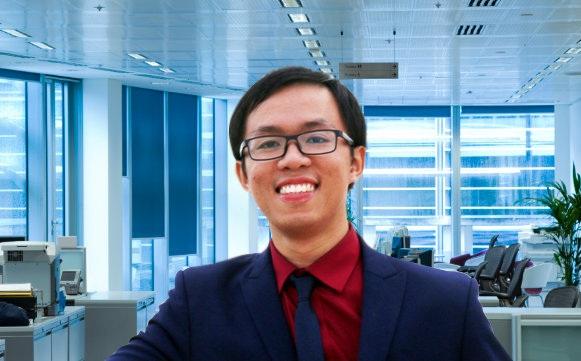 Thầy Nhữ Đình Ngọc Anh - Giảng viên ĐH khoa tiếng Anh.
