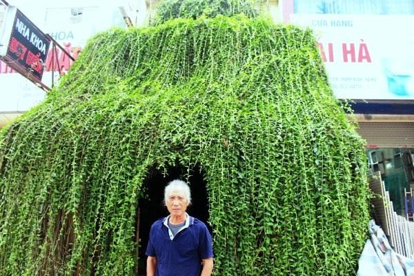 Chân dung chủ nhân của căn nhà cây độc đáo ở Hà Nội