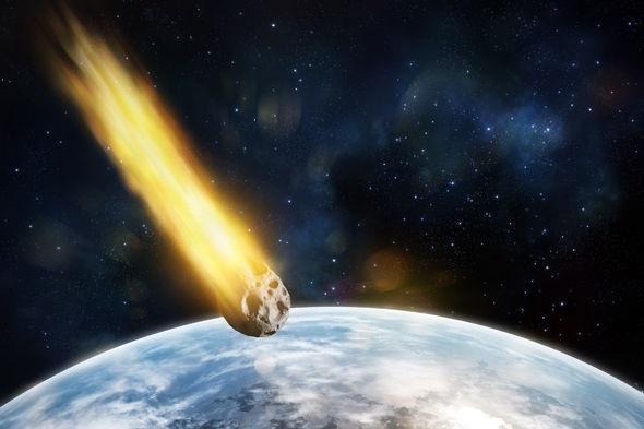 Các tiểu hành tinh có thể lao thẳng vào Trái Đất.