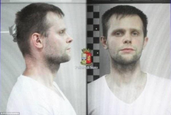 Lukasz Pawel Herba, một trong những nghi phạm của nhóm bắt cóc