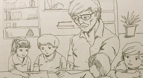 Rất nhiều những người thầy/cô thầm lặng ở bên ngoài nhà trường