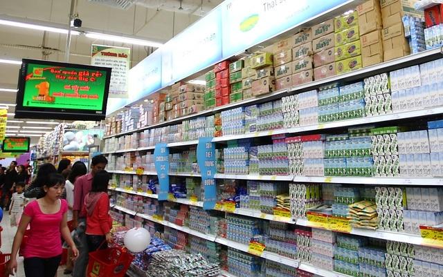 Mức tiêu thụ sữa của người Việt vẫn còn thấp so với các nước đang phát triển khá (ảnh minh họa).