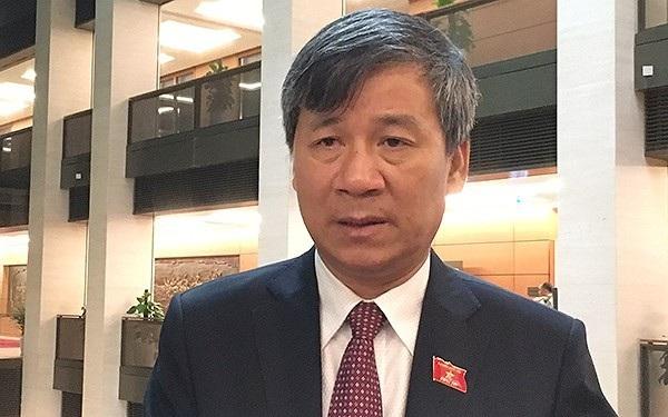 Đại biểu Quốc hội Nguyễn Anh Trí - nguyên Viện trưởng Viện huyết học và truyền máu TƯ.