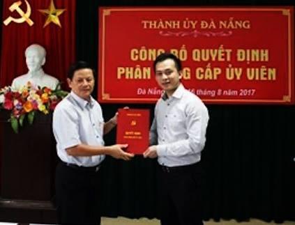 Ông Nguyễn Bá Cảnh được điều động giữ chức Phó ban Dân vận Thành ủy Đà Nẵng