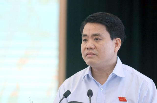 Ông Nguyễn Đức Chung cho biết, đến nay thành phố chưa được khu đất nào sau khi các Bộ ngành di dời