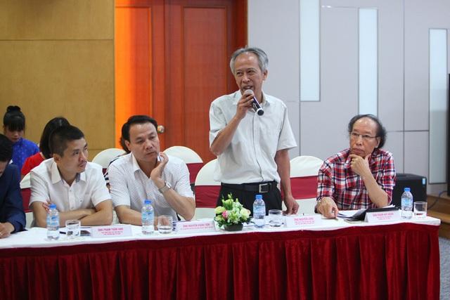 Ông Nguyễn Long - Tổng Thư ký Hội Tin học Việt Nam - Chủ tịch Hội đồng Sơ khảo nội dung Công nghệ thông tin.
