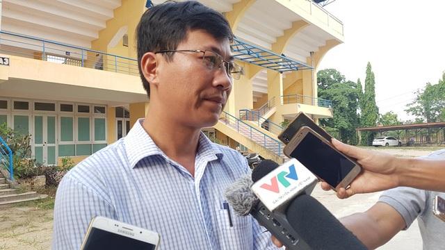 Ông Lê Quốc Tuấn, Giám đốc Công ty TNHH Thương mại và Dịch vụ Chuỗi Giá Trị là người bị kiện