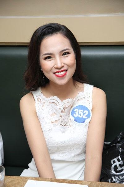 Nguyễn Thu Huyền được cho là giống Hoa hậu Kỳ Duyên.