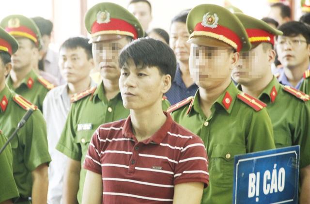Nguyễn Văn Oai tại phiên tòa hình sự sơ thẩm sáng ngày 18/9