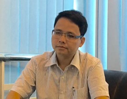 Ông Nguyễn Vũ Hải, Phó cục trưởng Cục Đăng kiểm, trao đổi với phóng viên Dân trí.