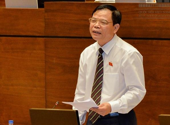 Bộ trưởng Nông nghiệp & Phát triển Nông thôn Nguyễn Xuân Cường (ảnh: Quochoi.vn)