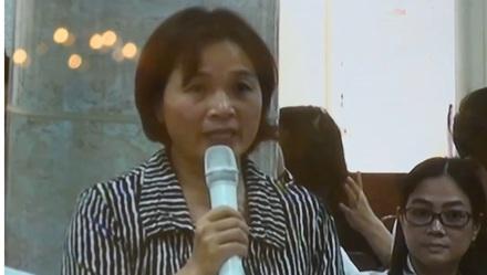 Bà Võ Thị Thanh Xuân, vợ cựu Tổng Giám đốc Oceanbank Nguyễn Xuân Sơn cho biết sẵn sàng bán tài sản để khắc phục hậu quả, xin được giữ mạng sống cho chồng mình.