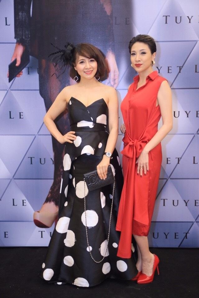Ca sĩ Pha Lê cũng góp mặt trong đêm trình diễn