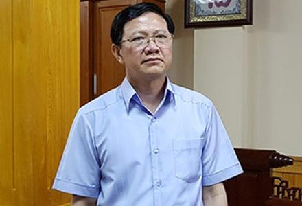 Ông Vũ Xuân Sáng, Giám đốc Sở KH-ĐT tỉnh Yên Bái, người đang bị điều tra về hành vi đưa hối lộ cho nguyên Nhà báo Lê Duy Phong 200 triệu đồng để mua sự im lặng.