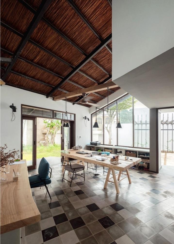 Ngôi nhà thoáng mát vào mùa hè, ấm áp vào mùa đông.