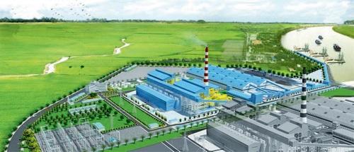Phối cảnh Nhà máy nhiệt điện Thái Bình 2.
