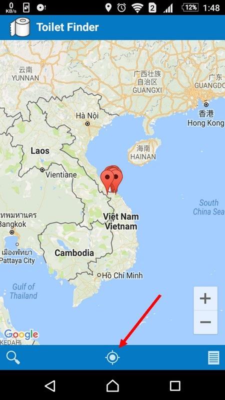 Ứng dụng giúp tìm kiếm nhà vệ sinh công cộng tại Việt Nam - 1