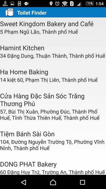 Ứng dụng giúp tìm kiếm nhà vệ sinh công cộng tại Việt Nam - 3