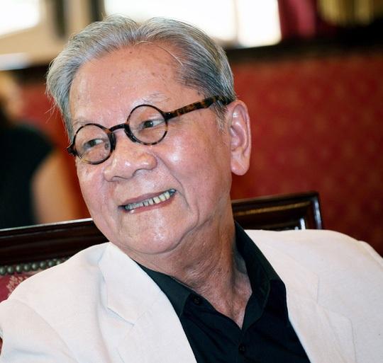 Chân dung nhạc sỹ Hoàng Vân. Ảnh: Lê Anh Dũng.