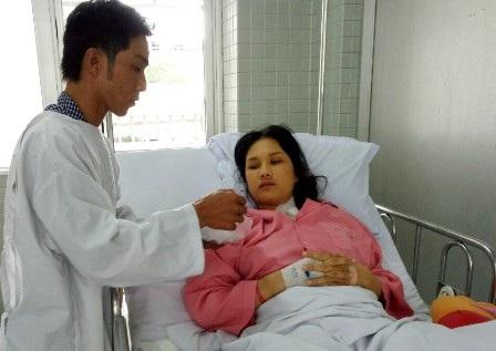 Anh Sum đang bất lực trong cuộc chiến giành lại sự sống cho vợ