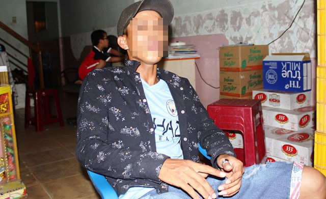 Ông Huỳnh Tấn Kiệt - nhân chứng kể lại việc đuổi theo tên cướp