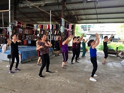 Lớp học nhảy thường diễn ra trong vòng một tiếng rưỡi.
