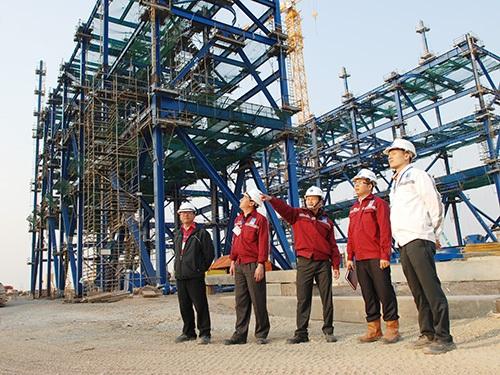 Việc xây dựng Nhà máy Nhiệt điện Thái Bình 2 đang là ưu tiên số 1 về nguồn vốn huy động của PVC