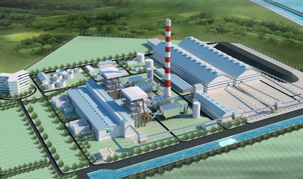 Phối cảnh Nhà máy Nhiệt điện Thái Bình 2