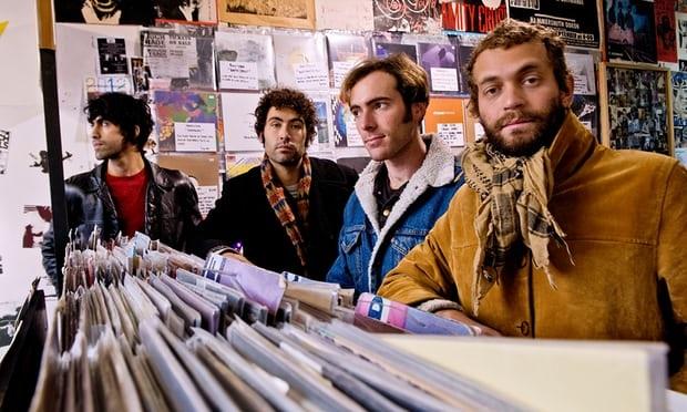 Nhóm nhạc Allah-Las (Ảnh: Guardian)