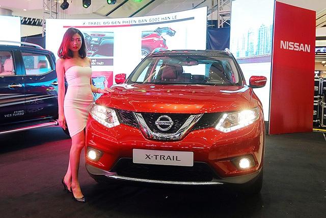 Mẫu X-Trail tiếp tục được Nissan Việt Nam thực hiện các chương trình khuyến mại lớn nhằm gia tăng thị phần ở phân khúc crossover.