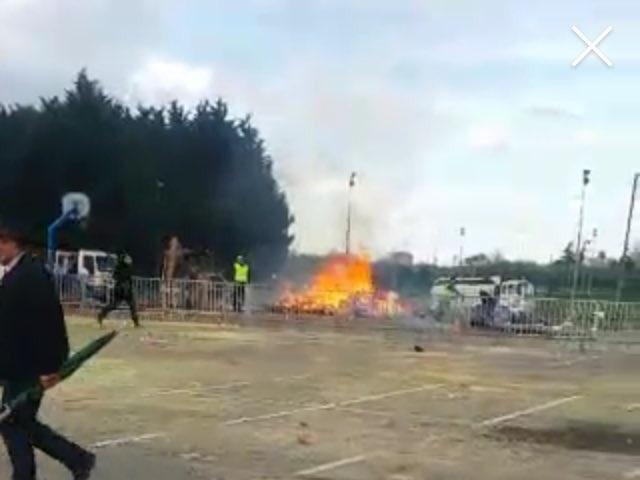 """Giới chức Villepinte cho biết vụ nổ này là hoàn toàn """"bất ngờ"""" và loại trừ khả năng có liên quan đến khủng bố hay có mưu đồ từ trước. (Ảnh: Youtube)"""