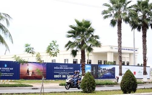 Đà Nẵng vừa có yêu cầu tạm dừng thi công dự án Khu đô thị mới quốc tế Đa Phước Đà Nẵng.