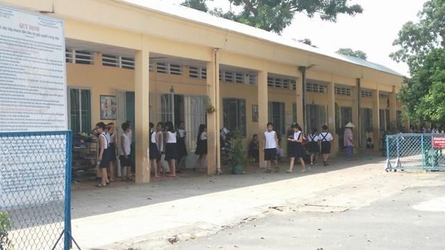 Trường tiểu học Lương Thế Vinh, Q. Thủ Đức, TPHCM - nơi đang là nghi vấn xảy ra việc xâm hại trẻ em tại trường
