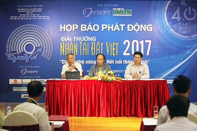 Lễ phát động Giải thưởng Nhân tài Đất Việt 2017.