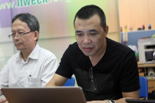 Ngoài các thành viên khá quen thuộc thì Hội đồng chấm sơ khảo năm 2017 cũng bổ sung các nhân tố mới. Trong ảnh là ông Nguyễn Quốc Cường - Giám đốc Trung tâm IT VAS - Tập đoàn VNPT.