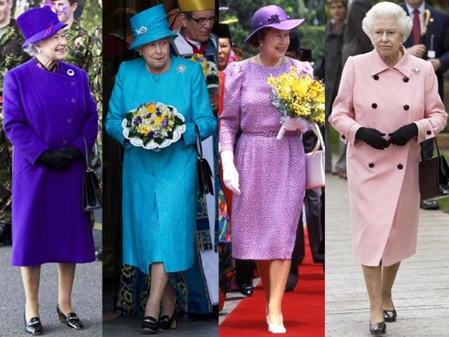 Màu túi xách ưa thích nhất của Nữ hoàng là màu đen