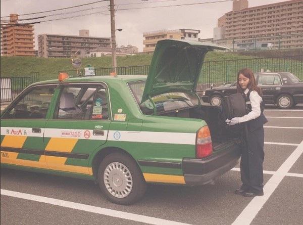 Ikuta rất yêu thích công việc lái taxi của mình