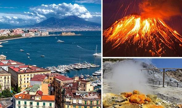 Siêu núi lửa ở Italia có thể dẫn tới một vụ phun trào mang tính hủy diệt - 1